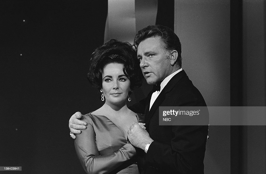 JR. SHOW -- Episode 1 -- Aired -- Pictured: (l-r) Actors Elizabeth Taylor and Richard Burton on January 7, 1966