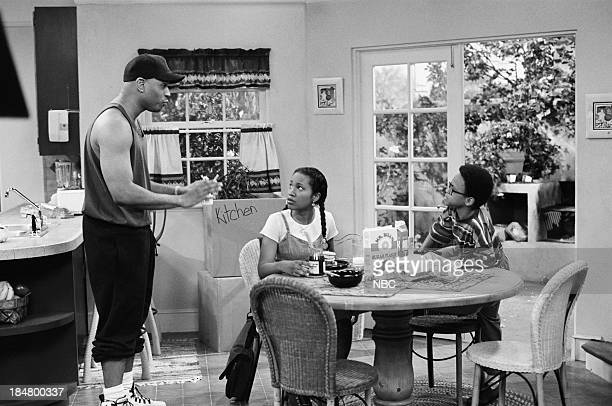 HOUSE Episode 1 Getting To Know You Pictured LL Cool J as Marion Hill Maia Campbell as Tiffany Warren and Jeffery Wood as Austin Warren