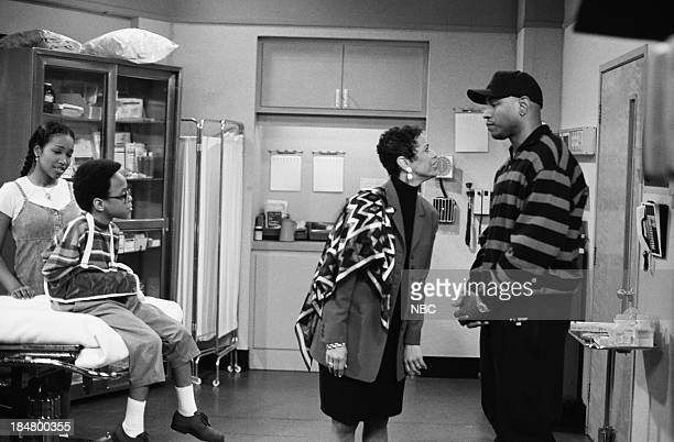 HOUSE Episode 1 Getting To Know You Pictured Maia Campbell as Tiffany Warren Jeffery Wood as Austin Warren Debbie Allen as Jackie Warren and LL Cool...
