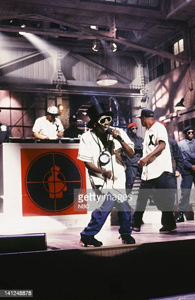 Flavor Flav Musical guest Public Enemy performs on September 28 1991 Photo by Raymond Bonar/NBCU Photo Bank