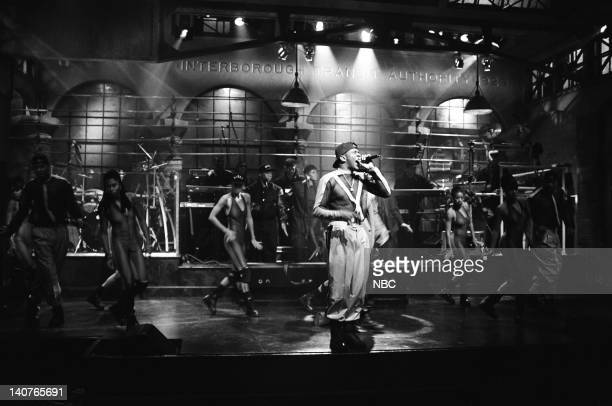 Musical guest Bobby Brown performs on September 26 1992 Photo by Al Levine/NBCU Photo Bank