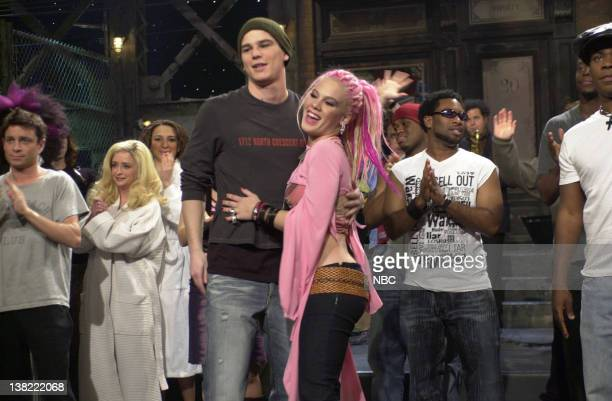 LIVE Episode 10 Air Date Pictured Chris Kattan Rachel Dratch Maya Rudolph Josh Hartnett Pink on January 12 2002
