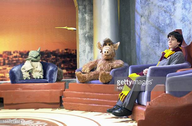 LIVE Episode 10 Air Date Pictured Yoda ALF Harry Potter during the 'HBO First Look' skit on January 12 2002