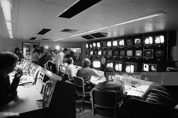 Control Room on January 28 1978 Photo by NBC/NBCU Photo Bank