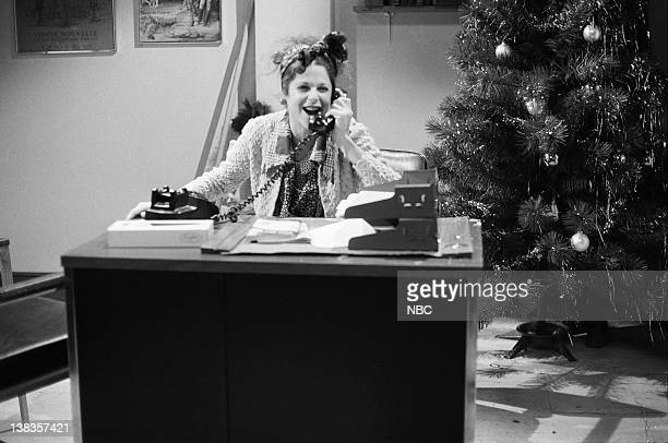 Gilda Radner as Mrs Rodriguez during the 'The Killer Trees' skit on on December 11 1976