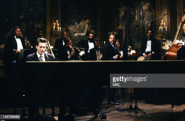 Musical guest Harry Connick Jr performs on January 13 1990 Photo by NBC/NBCU Photo Bank