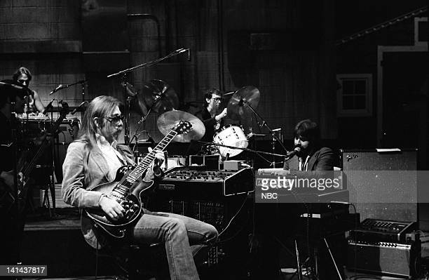Musical Guest The Doobie Brothers perform on January 27 1979 Photo by Alan Singer/NBC/NBCU Photo Bank