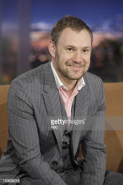 BRIEN Episode 100 Air Date Pictured Musical guest David Gray on November 9 2009 Photo by Paul Drinkwater/NBCU Photo Bank