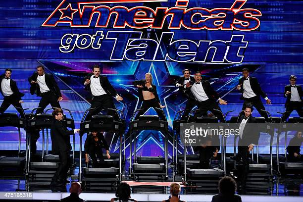 S GOT TALENT Episode 1002 'Los Angeles Auditions' Dolby Theatre Pictured The Treadmill Dance Crew