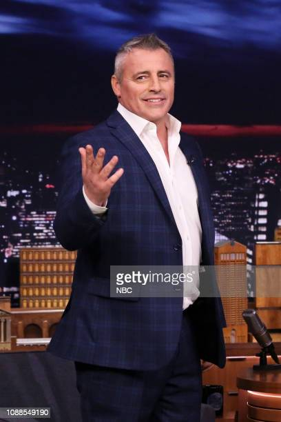 Episode 1002 -- Pictured: Actor Matt LeBlanc arrives to the show on January 25, 2019 --