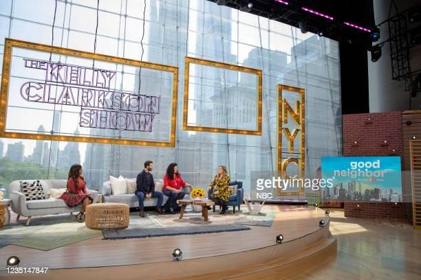 Episode 1002 -- Pictured: Kandi Burruss, Vinny, Gina, Kelly Clarkson --