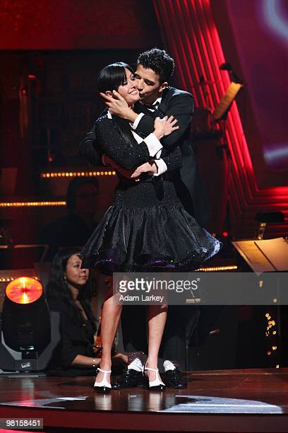 """Episode 1002A"""" - On the season premiere of """"Dancing with the Stars the Results Show,"""" the first couple of the season was eliminated - Shannen Doherty..."""