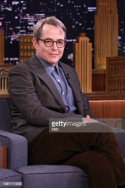 Episode 1004 -- Pictured: Actor Matthew Broderick during an interview on January 29, 2019 --