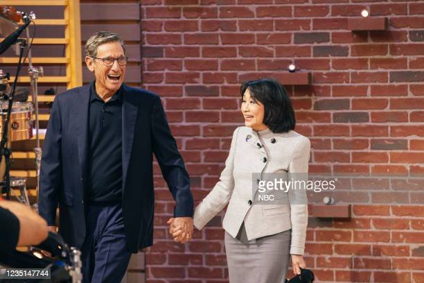 Episode 1004 -- Pictured: Maury Povich, Connie Chung --