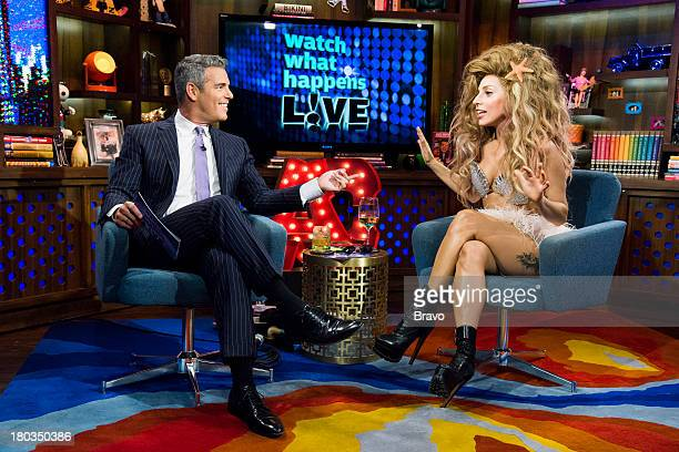 Andy Cohen Lady Gaga
