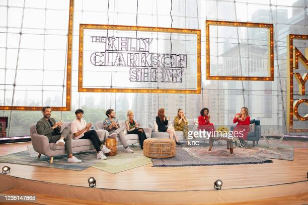 Episode 1005 -- Pictured: Danny Pino, Nik Dodani, Ben Platt, Amandla Stenberg, Julianne Moore, Angie Martinez, Nicia Fullwood, Kelly Clarkson --