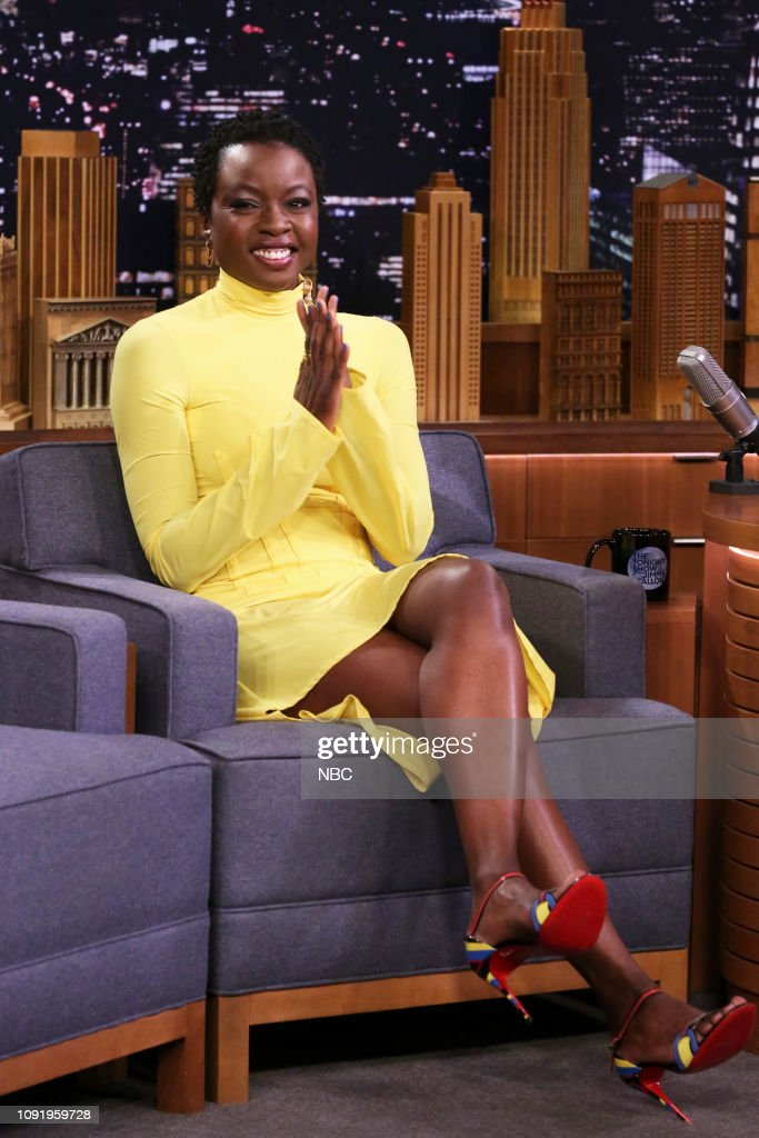 "NY: NBC's ""Tonight Show Starring Jimmy Fallon"" With Guests Seth Meyers, Danai Gurira, Dan White"