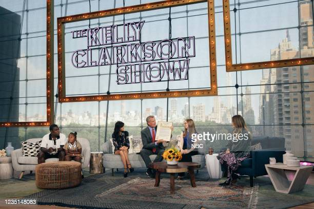 Episode 1006 -- Pictured: Tracy Morgan, Maven, Julia Haart, Mayor Bill de Blasio, Amanda Munz, Kelly Clarkson --