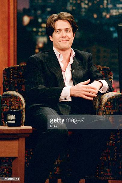 Episode 1008 -- Pictured: Actor Hugh Grant during an interview on October 4, 1996 --