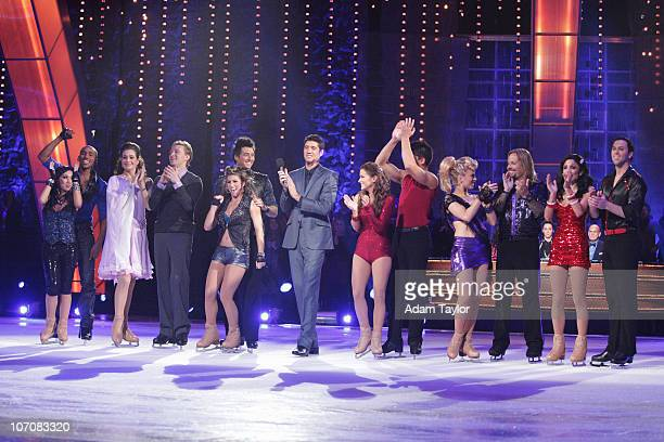 STARS Episode 101 All six couples took to the ice with their professional partners for the first time in front of a live audience on MONDAY NOVEMBER...