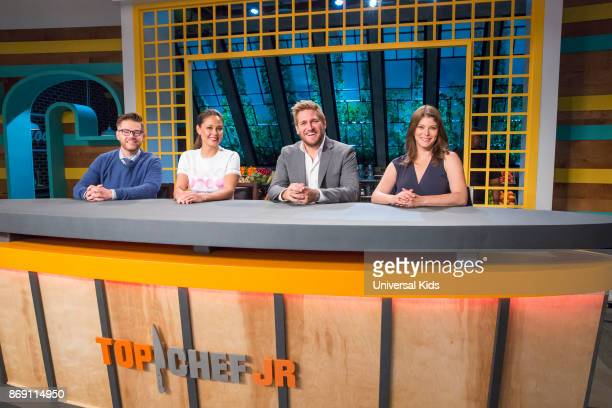 Guest Judge Richard Blais Host Vanessa Lachey Head Judge Curtis Stone Guest Judge Gail Simmons