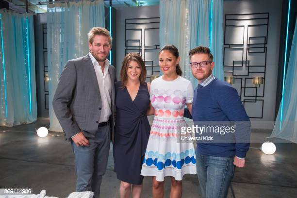 Head Judge Curtis Stone Guest Judge Gail Simmons Host Vanessa Lachey Guest Judge Richard Blais