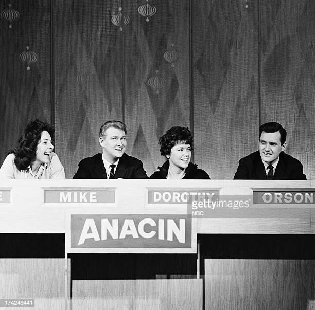 Panelists Elaine May Mike Nichols Dorothy Loudon guest panelist Orson Bean