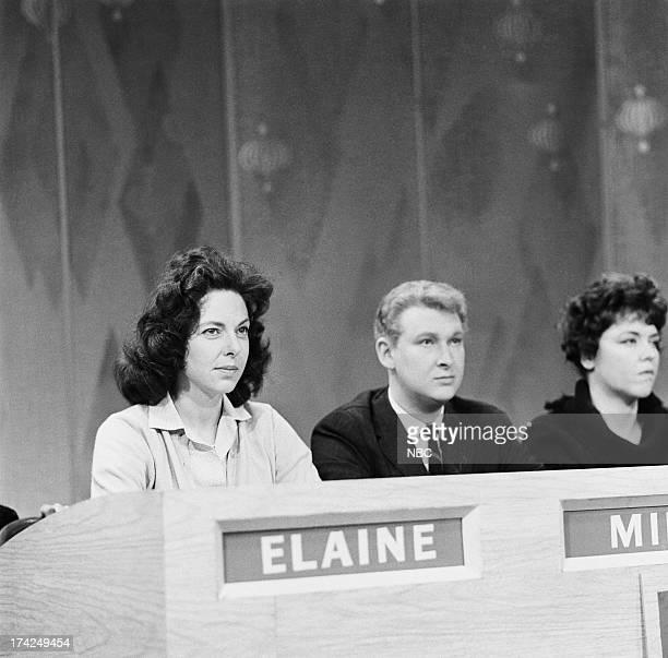Panelists Elaine May Mike Nichols Dorothy Loudon