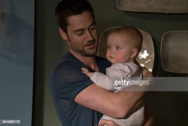 REDEMPTION Episode 101 Pictured Ryan Eggold as Tom Keen Baby Agnes