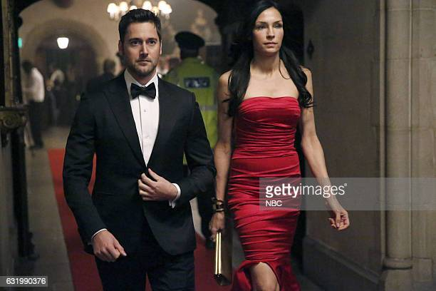 REDEMPTION Episode 101 Pictured Ryan Eggold as Tom Keen Famke Janssen as Susan 'Scottie' Hargrave