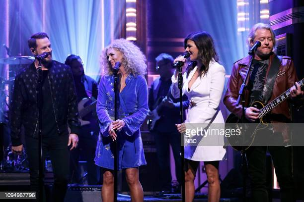 Musical guest Ronnie Milsap featuring Little Big Town performs on February 6 2019