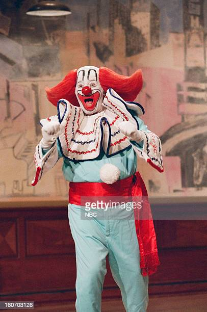 Bozo the Clown on October 9 1998