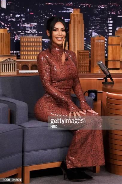 Entrepreneur Kim Kardashian West during an interview on February 7 2019