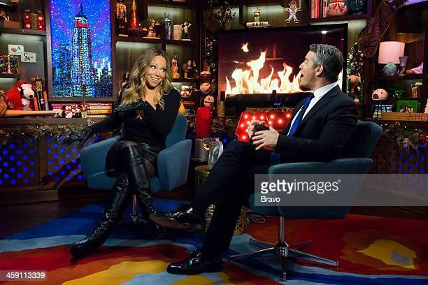 Mariah Carey Andy Cohen