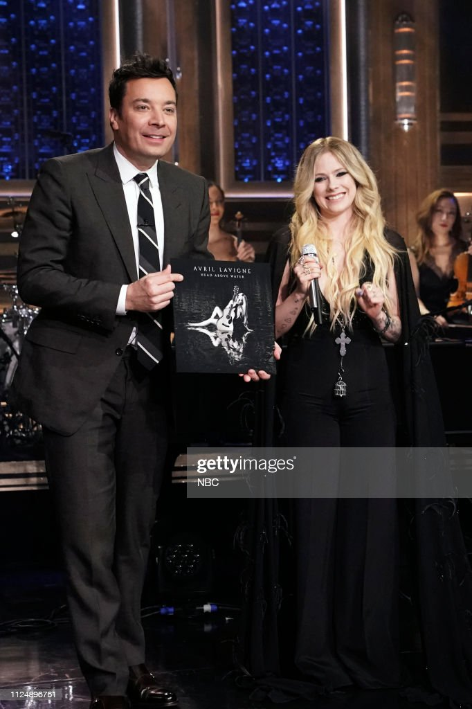 "NY: NBC'S ""Tonight Show Starring Jimmy Fallon"" With Guests Steve Martin & Martin Short, Tim Tebow, AVRIL LAVIGNE"
