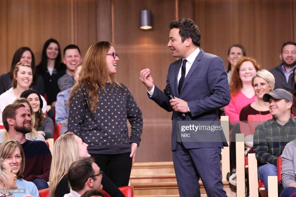 "NY: NBC'S ""Tonight Show Starring Jimmy Fallon"" With Guests Jeff Daniels, Paul Shaffer, WALLOWS"