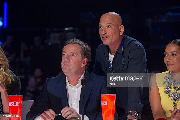 Episode 1017 -- Pictured: Piers Morgan, Howie Mandel, Melanie 'Mel B' Brown --