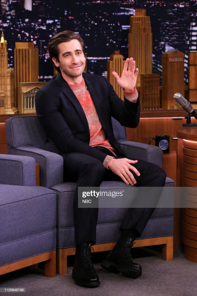 "NY: NBC'S ""Tonight Show Starring Jimmy Fallon"" With Guests Jake Gyllenhaal, Jennifer Carpenter, WALK THE MOON"