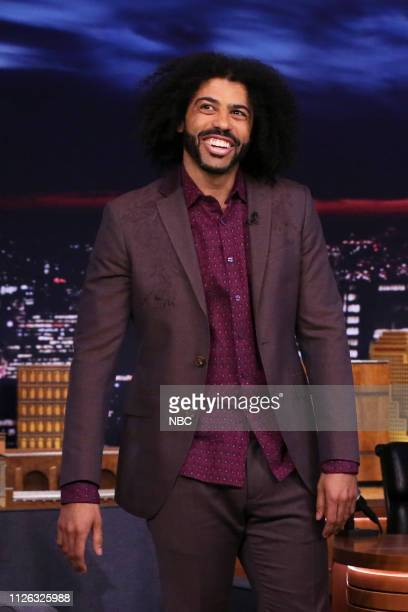 Episode 1019 -- Pictured: Actor Daveed Diggs arrives to the show on February 20, 2019 --