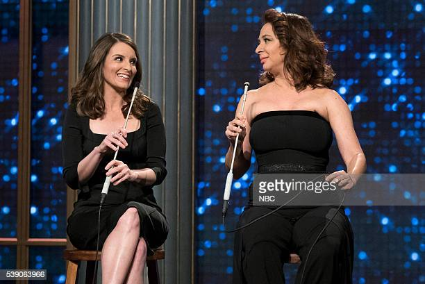 MAYA MARTY 'Episode 102' Pictured Tina Fey Maya Rudolph in the 'Tina Maya Song' on June 7 2016