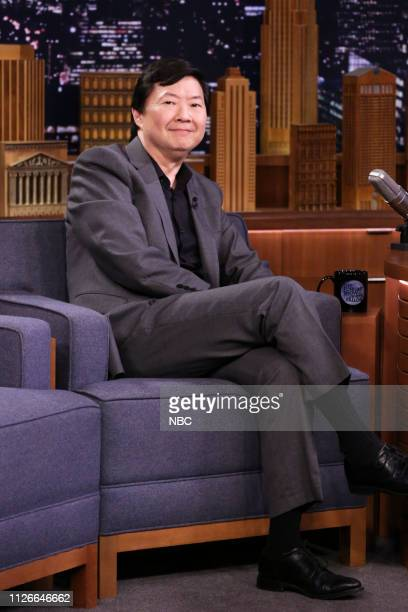 Actor Ken Jeong during an interview on February 21 2019