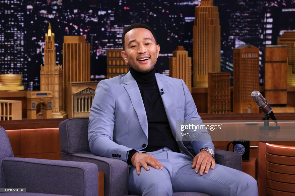 "NY: NBC'S ""Tonight Show Starring Jimmy Fallon"" With Guests John Legend, Hasan Minhaj"