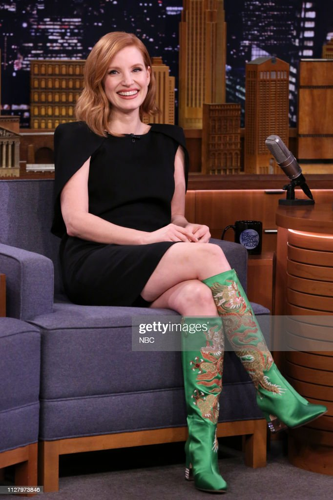 "NY: NBC'S ""Tonight Show Starring Jimmy Fallon"" With Guests Jessica Chastain, Patton Oswalt, GARY CLARK JR."