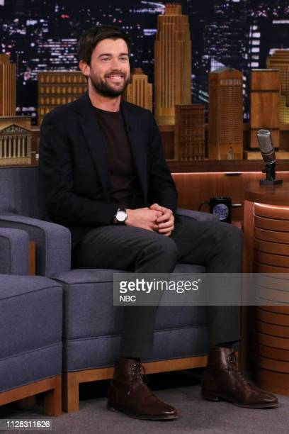 Comedian Jack Whitehall during an interview on March 1 2019