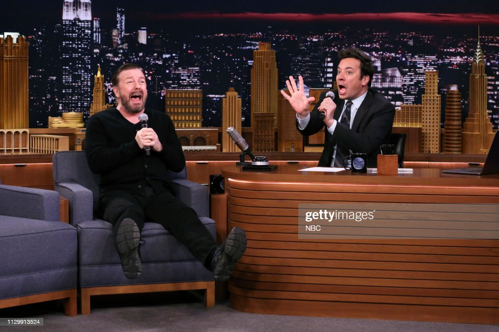 "NY: NBC'S ""Tonight Show Starring Jimmy Fallon"" With Guests Ricky Gervais, Karlie Kloss, MAREN MORRIS"