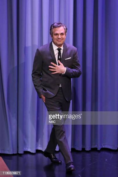 Actor Mark Ruffalo arrives to the show on March 13 2019