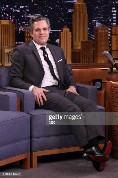 Actor Mark Ruffalo during an interview on March 13 2019