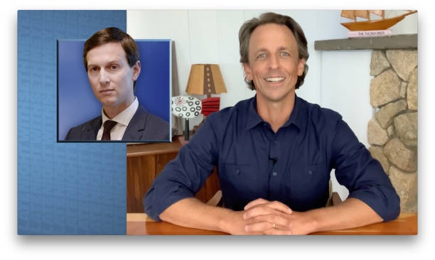 "NY: NBC'S ""Late Night With Seth Meyers"" With Guests Jason Sudeikis, Robert Costa, 8G Band sit-in: Thomas Land"