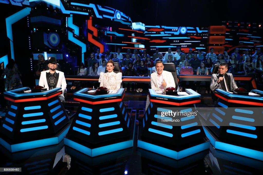Judge Roberto Tapia, Judge Alicia Machado, Judge Alexis Valdes, Judge Noel Torres --