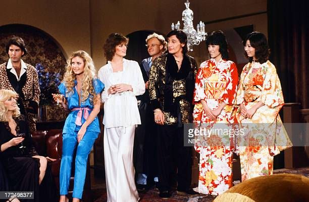 Playboy Playmate Janis Schmitt unknown Playboy Playmates Karen Morton Jeana Tomasino unknown Jim Varney as Hugh Hefner Pink Lady Mitsuyo Nemoto as...
